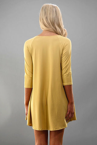 Spring Swing Dress - Yellow - Blue Chic Boutique  - 6