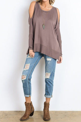 Happy Weekend Top - Gray - Blue Chic Boutique  - 7