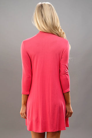 Night to Remember Dress - Coral