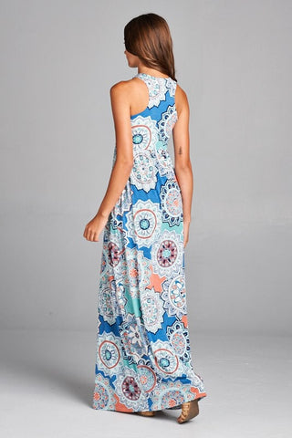 Garden Party Maxi Dress - Patio Print
