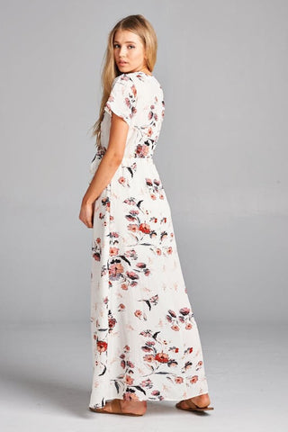 Summer Living Maxi Dress - Ivory