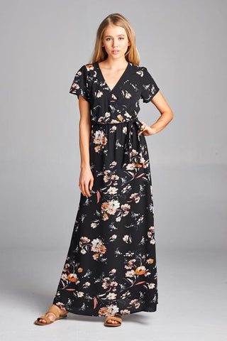 Summer Living Maxi Dress - Black