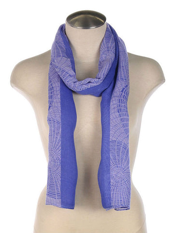 Royal Blue Scarf - Blue Chic Boutique