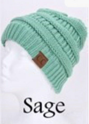 C.C. Knit Beanie - 30 - Blue Chic Boutique  - 21