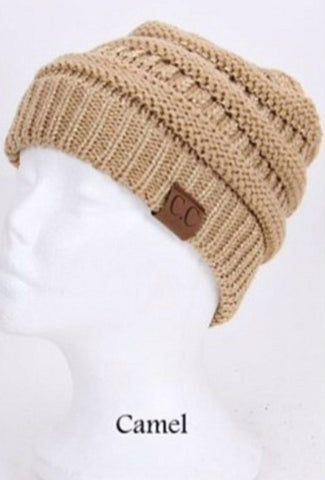 C.C. Knit Beanie - 30 - Blue Chic Boutique  - 27