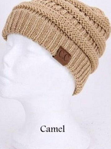 C.C. Knit Beanie - 30 - Blue Chic Boutique  - 31