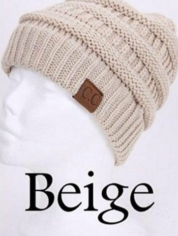 C.C. Knit Beanie - 30 - Blue Chic Boutique  - 32