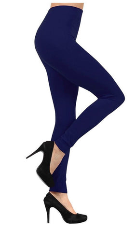 Fleece Lined Leggings - 15 colors - Blue Chic Boutique  - 1