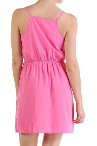 Ruffle Dress - Pink - Blue Chic Boutique  - 3