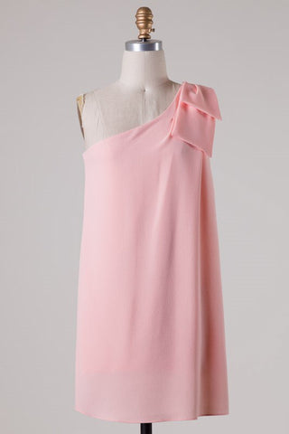 Save the Date Dress - Soft Peach - Blue Chic Boutique  - 2