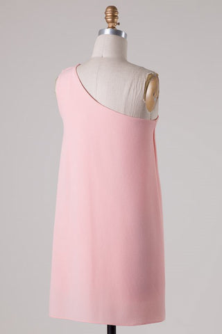 Save the Date Dress - Soft Peach - Blue Chic Boutique  - 3