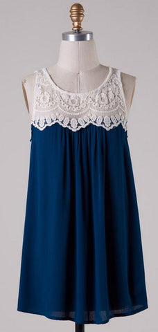 Coral Lace Top - Blue Chic Boutique  - 10