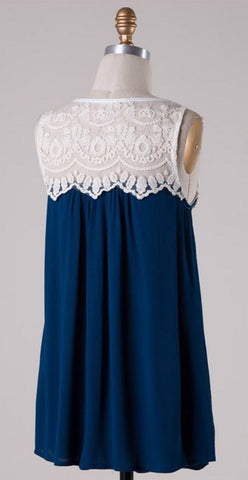 Coral Lace Top - Blue Chic Boutique  - 11