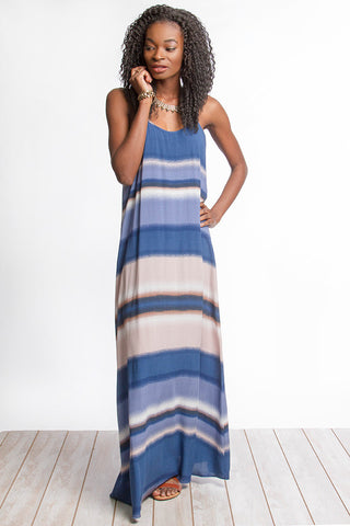 Fun on the Horizon Maxi Dress - Orange - Blue Chic Boutique  - 2