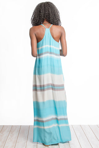 Fun on the Horizon Maxi Dress - Orange - Blue Chic Boutique  - 4