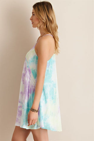 Pastel Watercolor Dress - Lemon Combo - Blue Chic Boutique  - 3