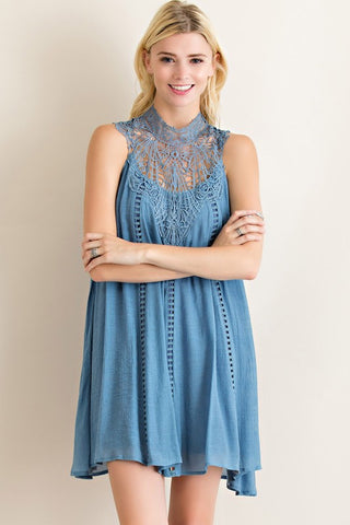 Lace Glam Dress - Black - Blue Chic Boutique  - 2