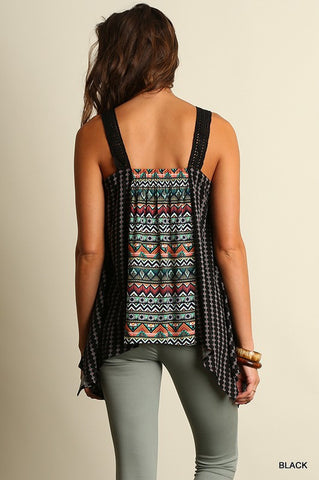 Summer Road Trip Tank - Black - Blue Chic Boutique  - 3