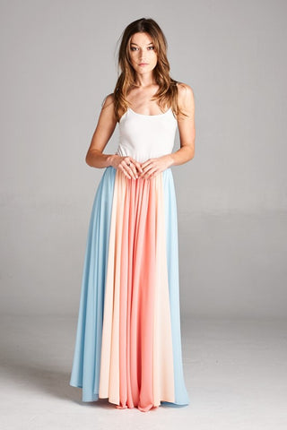 Twirlable Maxi Skirt - Coral - Blue Chic Boutique  - 4
