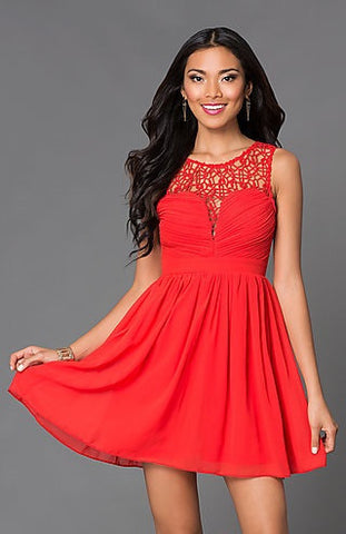 Opulent Dress - Red - Blue Chic Boutique  - 4