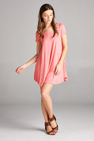 Free Flowin' Dress - Pink - Blue Chic Boutique  - 4