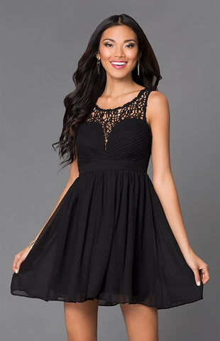 Opulent Dress - Black - Blue Chic Boutique  - 2