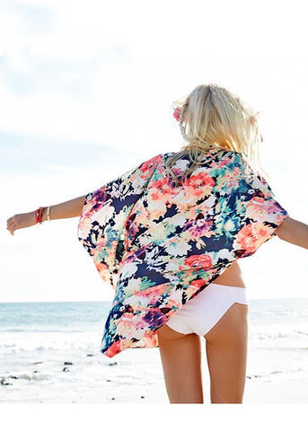 Celebrate Summer Kimono - Blue Chic Boutique  - 4