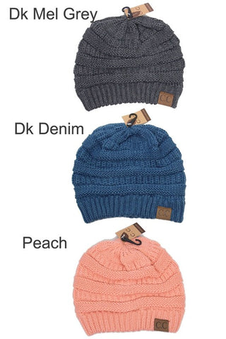 C.C. Knit Beanie - 30 - Blue Chic Boutique  - 17