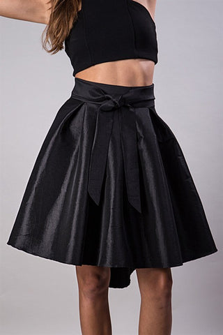 Showstopper Skirt - Black - Blue Chic Boutique  - 1