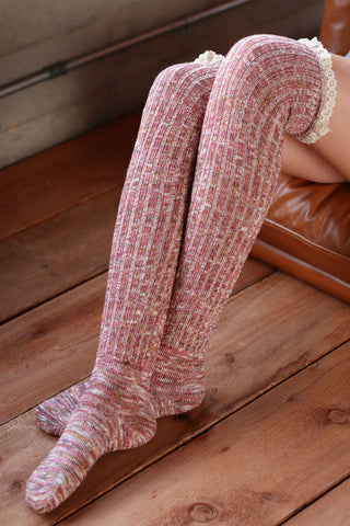 Boot Socks - Red - Blue Chic Boutique  - 1