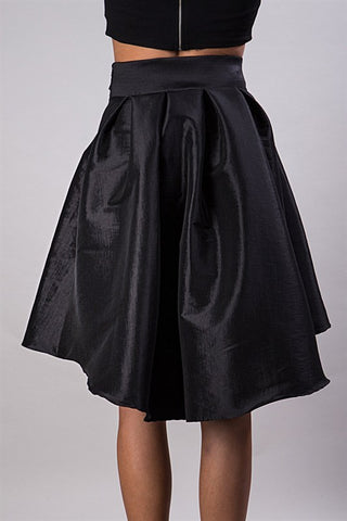 Showstopper Skirt - Black - Blue Chic Boutique  - 2