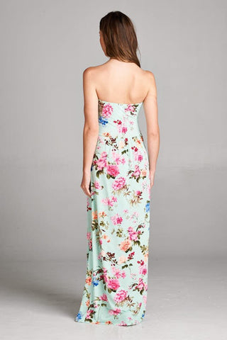 Garden Party Maxi Dress - Mint - Blue Chic Boutique  - 4