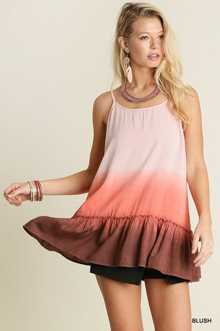 Lakeside Lunch Tank - Pink - Blue Chic Boutique  - 1