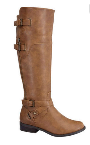Fall Frolic Boots - Tan - Blue Chic Boutique  - 1