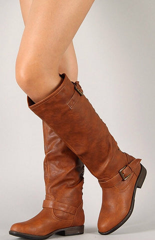 Outlaw Boots - Chestnut - Blue Chic Boutique  - 2