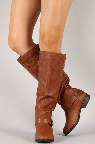 Outlaw Boots - Chestnut - Blue Chic Boutique  - 3
