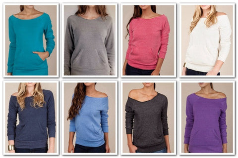 Edgy Eco-Friendly Sweatshirt - 8 Colors - Blue Chic Boutique  - 2