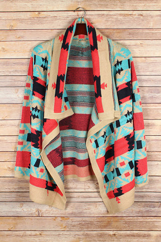 Fire Side Cardigan - Blue Chic Boutique  - 6