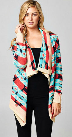 Fire Side Cardigan - Blue Chic Boutique  - 10
