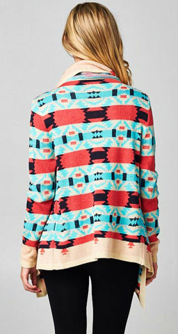 Fire Side Cardigan - Blue Chic Boutique  - 11