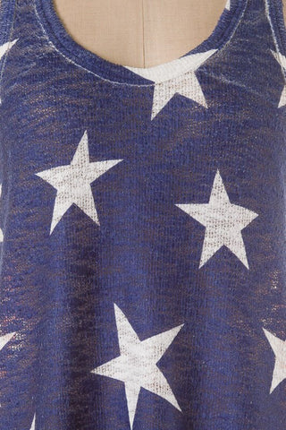Patriotic Tank Top - Blue Chic Boutique  - 2