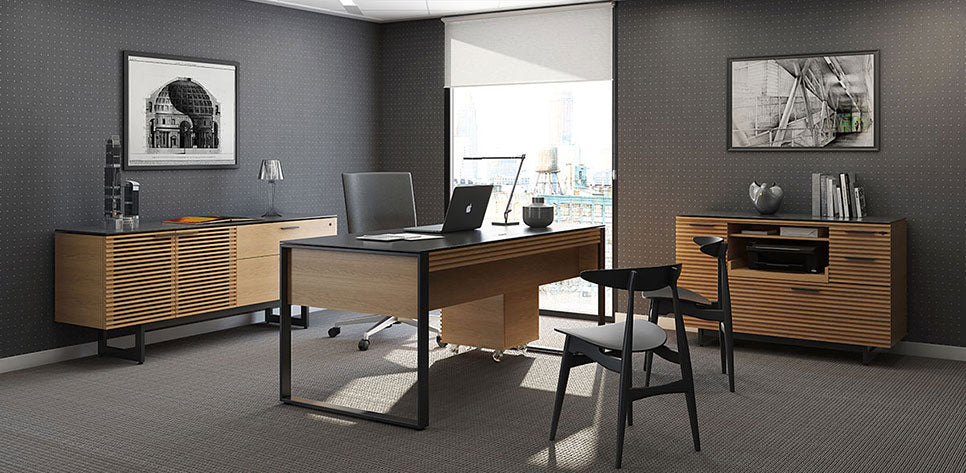 corridor office furniture set - BDI office furniture