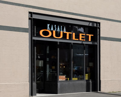 Weu0027ve Put Our Own Spin On The Outlet Shopping Experience. Sharing A Space  With Our Warehouse Has Allowed Us To Keep Stock Of Selected Furnishings  That Offer ...