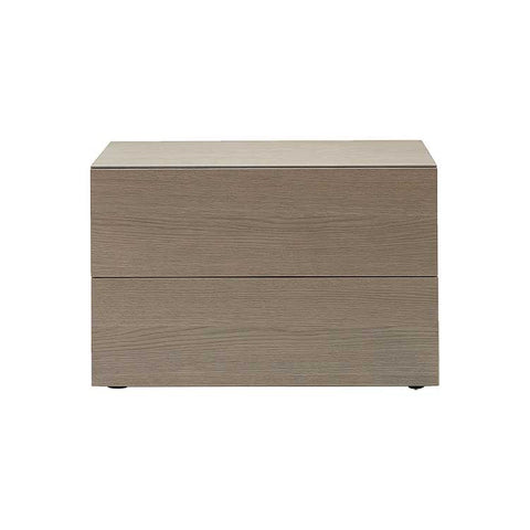 Cap Two Drawer Nightstand