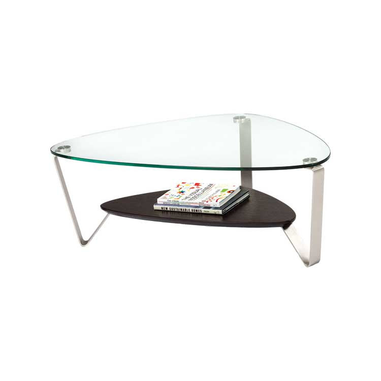 Modern glass cocktail table - coffee table - Modern furniture Seattle
