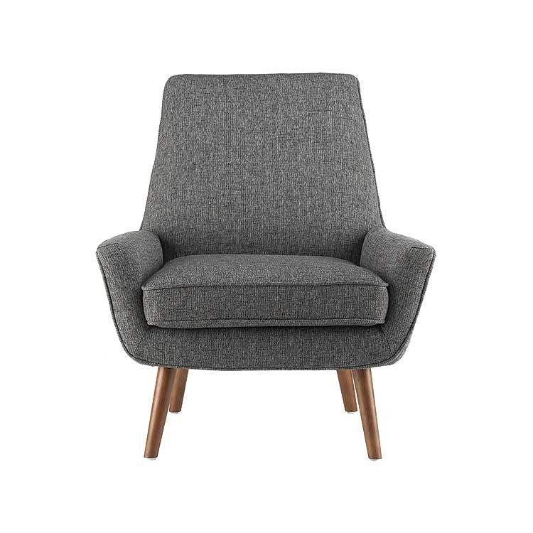 Modern Grey Fabric Accent Chair   Seattle Furniture