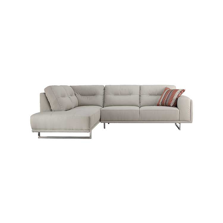 Genial Modern Leather Sectional   Living Room Furniture   Bellevue Furniture Store