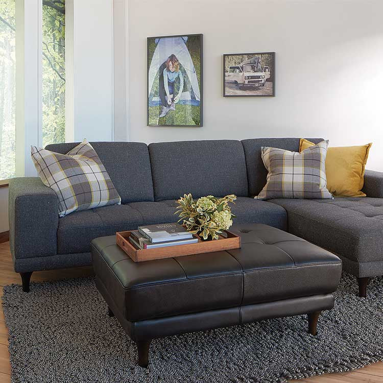 Lucca Fabric Sectional