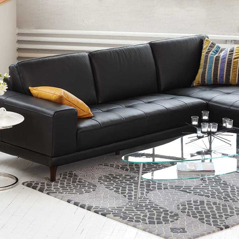 Lucca Leather Sectional