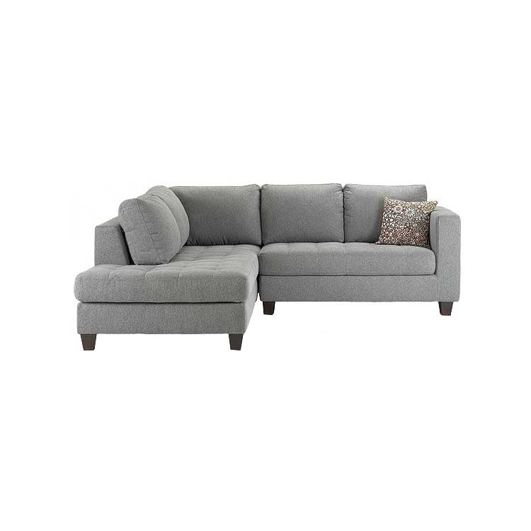 Modern fabric sectional, chair, and sofa - Seattle furniture